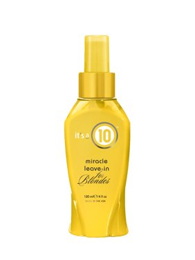 ($19.99 Value) It's A 10 Miracle Blonde Leave In Hair Treatment, 4 Oz