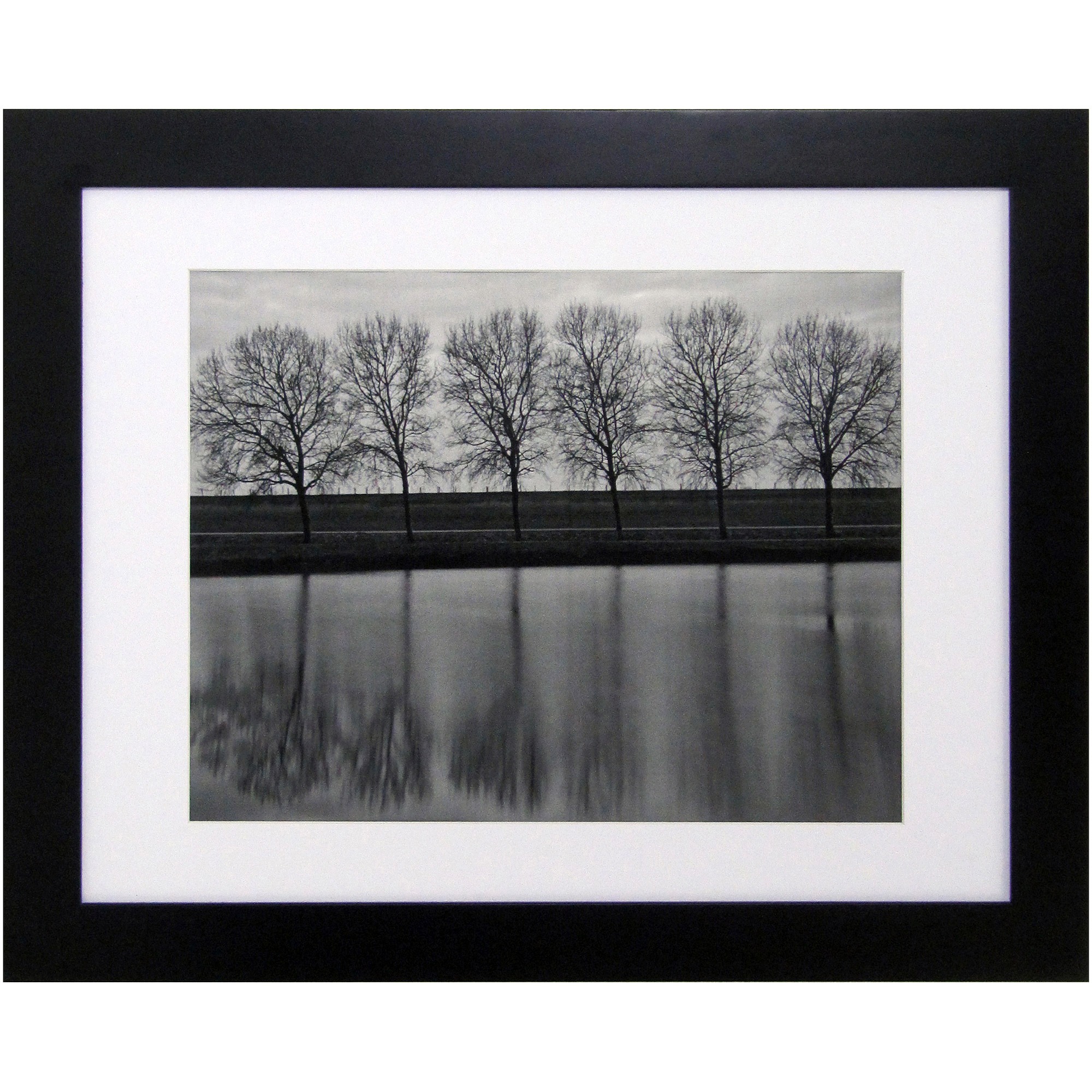 "Better Homes and Gardens Black Picture Frame, 16"" x 20"", Matted to 11"" x 14"""
