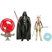 "Star Wars Rebels 3.75"" Figure 2-Pack Space Mission Darth Vader and Ahsoka Tano"