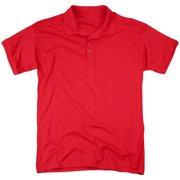 DCO Rough Flash Logo (Back Print) Mens Polo Shirt