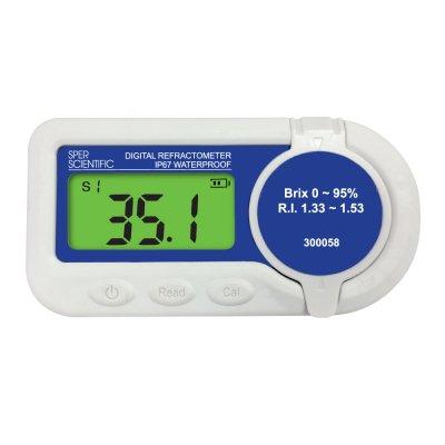 Waterproof Refractometer Brix 0 95