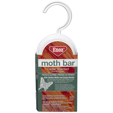 Enoz Moth Bar Cedar. 2 Ct. (Moth Bar)
