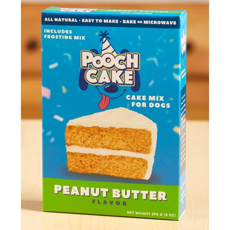 Paenut Butter Pooch Cake Mix -