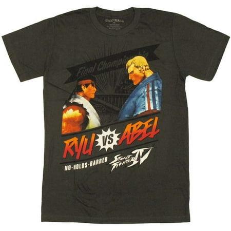 Street Fighter Ryu vs Abel T Shirt Sheer