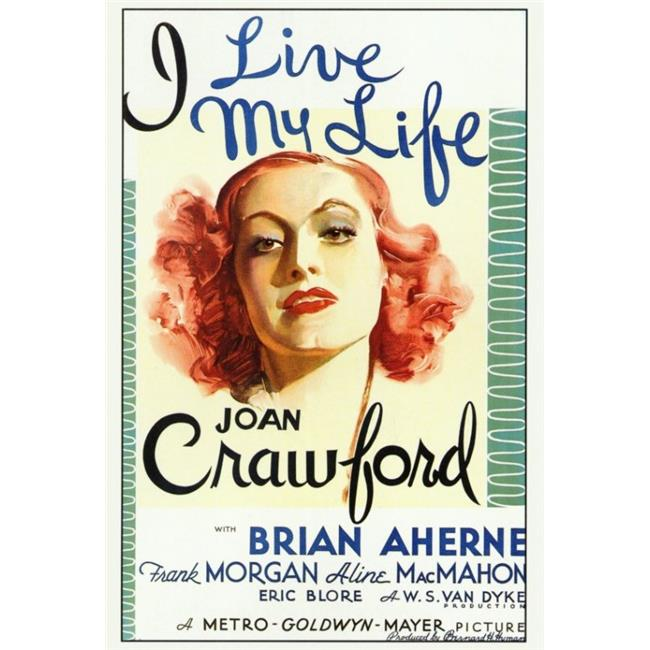 Posterazzi MOVIF6349 I Live My Life Movie Poster - 27 x 40 in. - image 1 of 1