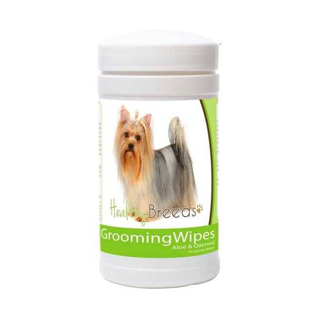 Healthy Breeds 840235151296 Yorkshire Terrier Grooming Wipes