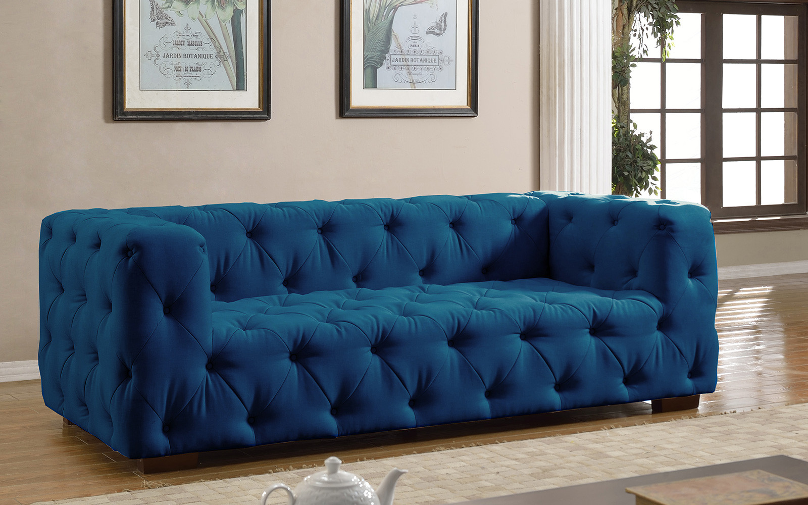 Navy Blue Sectional Couch Cover