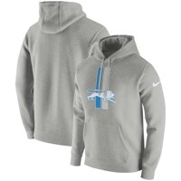 c17667c1427d Product Image Detroit Lions Nike Fan Gear Club Throwback Pullover Hoodie -  Heather Gray