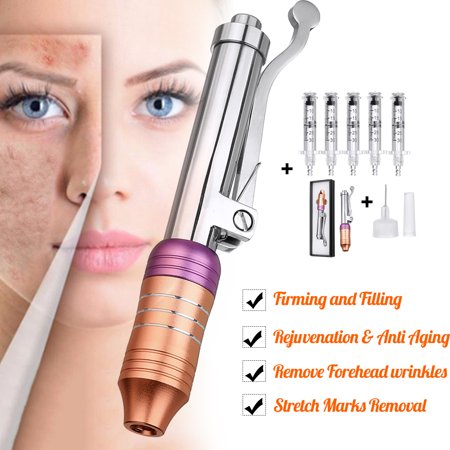 2019 Needle-free Non-invasive Atomizer Injection Pen Hylauronic Acid Micro Injector Hyaluron Pen Gun Set OR with 5 (Best Pens For Planners 2019)