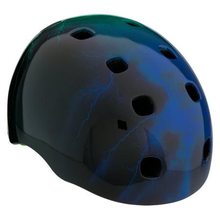 Moto 8 Solid Helmets - Schwinn Burst Youth Multi-Sport Bike Helmet (8+), Green/Blue