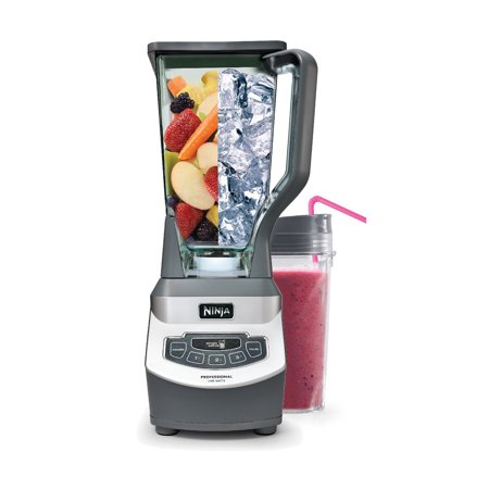 Ninja BL663 Professional Blender with Single Serve Cup (Refurbished) ()