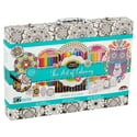 Cra-Z-Art Timeless Creations Art of Coloring Customizable Coloring Case