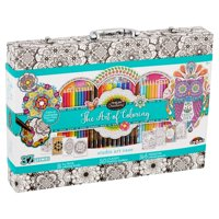 Cra-Z-Art Timeless Creations Premium Art of Coloring Customizable Adult Coloring Case