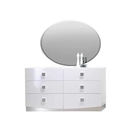 Best Master Furniture France Dresser And Mirror Walmartcom