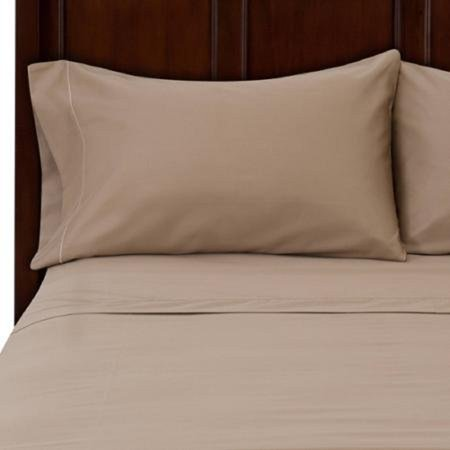 Hotel Style 500 Thread Count Sheet Set  Full  Clay Beige