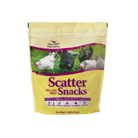 Manna Pro Poultry Scatter Snacks Chicken Treats, 1.68 lbs.