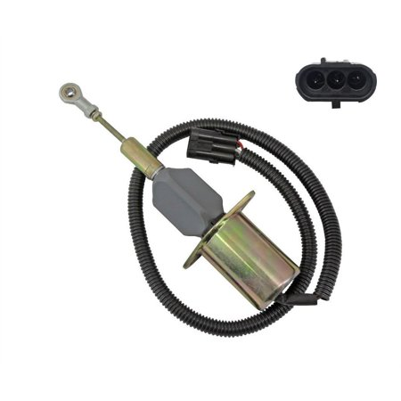 Fuel Shut Off Solenoid (NEW Fuel Shutoff Solenoid for 12V Cummins Syncro Start SA-4639-12 3932545)