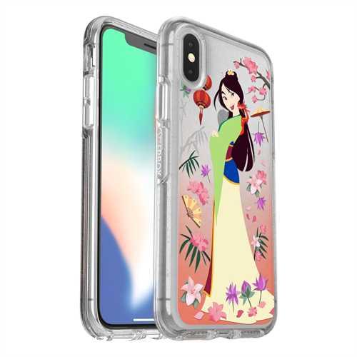the latest af619 8dbbb OtterBox Apple iPhone X Case Symmetry Disney – Mulan – Walmart ...