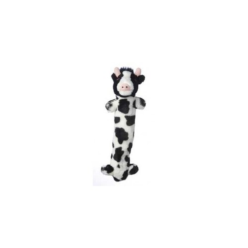 MultiPet Loofa Look Who's Talking Cow Plush Toy