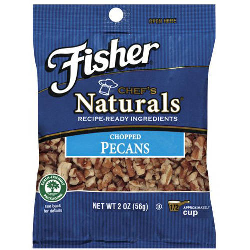 Fisher Chefs Naturals Chopped Pecans, 2 oz