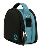 VANGODDY Mini Laurel Travel Camera Protector Case Shoulder Bag fits Compact Digital Cameras [Canon, Nikon, Samsung, Sony, Olympus, etc.] up to 4in x 3in