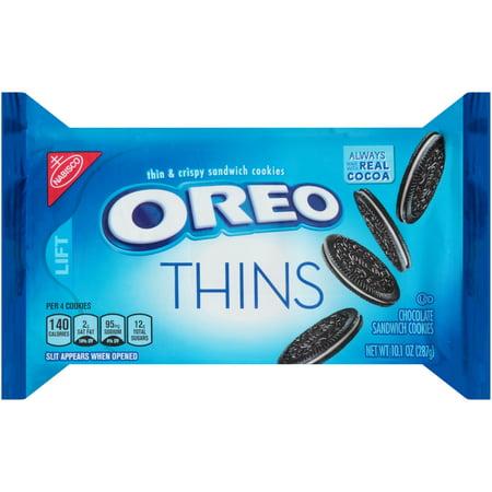 Oreo Thins Cookies  10 1 Oz
