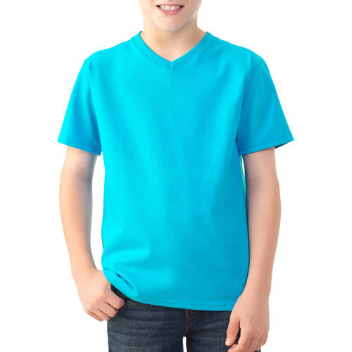 Fruit of the Loom Boys' Short Sleeve V-Neck T Shirt by Fruit of the Loom