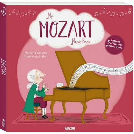 My Mozart Music Book (Board Book) (132 Music Book)