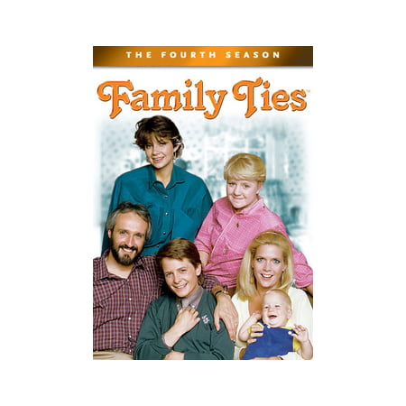 Family Ties: The Fourth Season (DVD) - Four Seasons Family Ring
