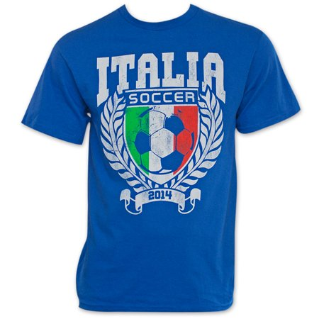 Italy Blue World Cup Soccer 2014 T-Shirt 2006 Italy World Cup