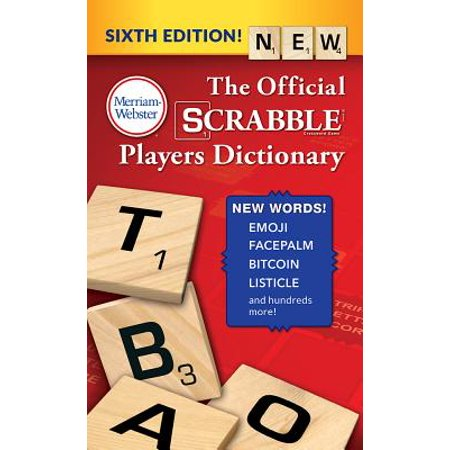 The Official Scrabble Players Dictionary ()