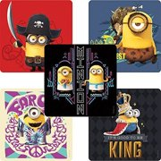 Minions Movie Stickers - Birthday Party Supplies & Favors - 75 per Pack