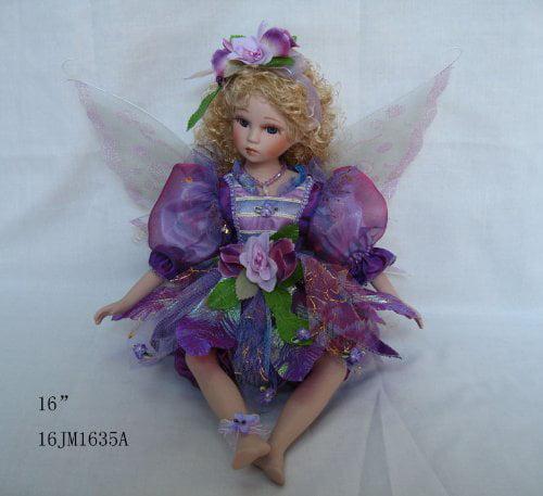 """Jmisa 16"""" Porcelain Fairy Doll by JMISA"""