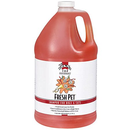 Fresh Pet Shampoo Concentrate Gallon Dog & Cat Professional Grooming Washing Use - Shaggy Dog Wash