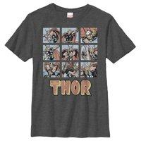 Marvel Boys' Classic Thor Battle Scenes T-Shirt