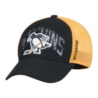 new style 1ce00 ea565 Product Image Pittsburgh Penguins Reebok 2017 Stadium Series Coach  Structured Flex Hat - Black