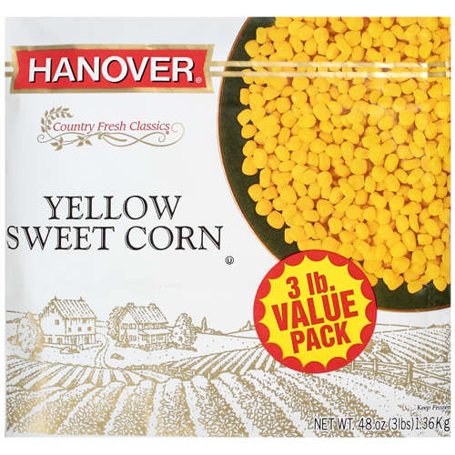 Hanover Country Fresh Classics Sweet Corn Yellow, 3 lb