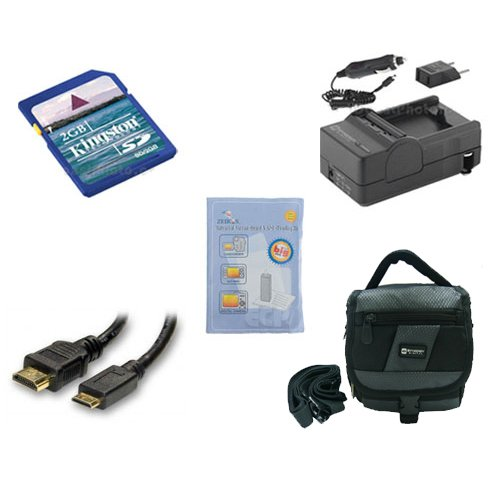 Panasonic HDC-SD40 Camcorder Accessory Kit includes: SDM-...