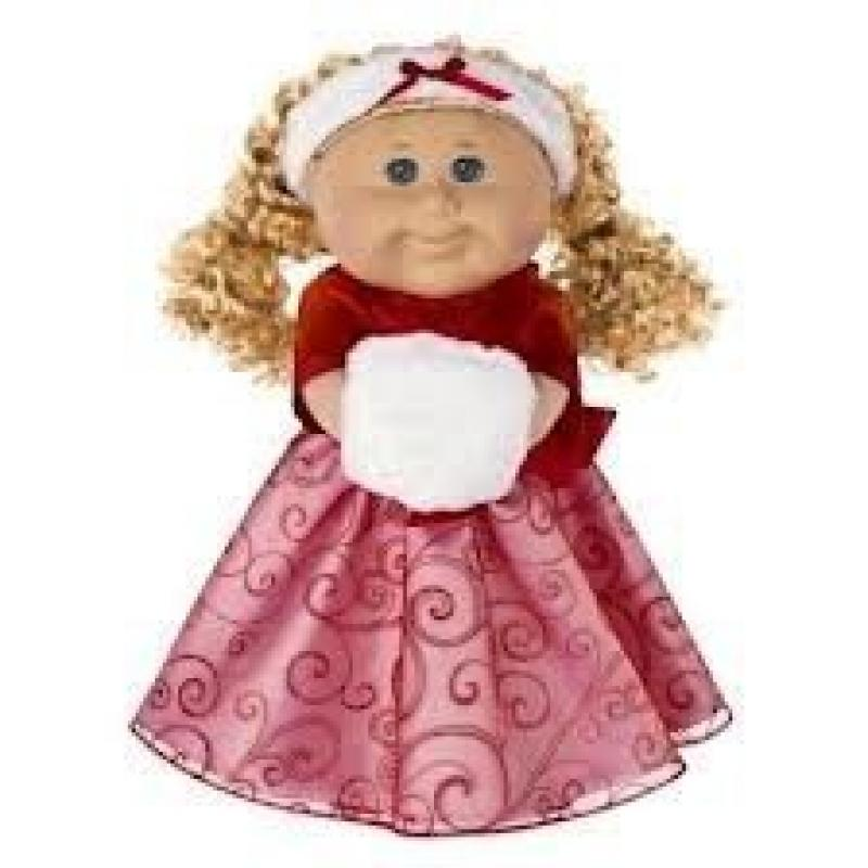 Cabbage Patch Kids Holiday 2012 Limited Edition( Blond Hair ,Blue Eyes) by