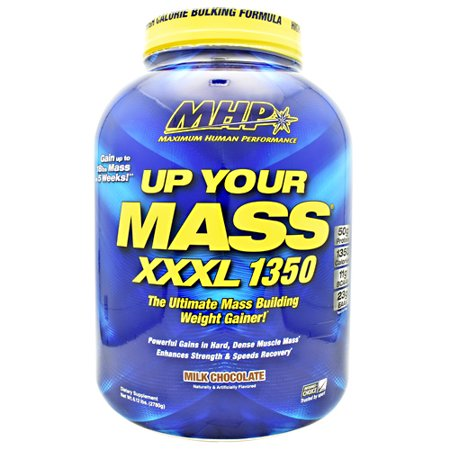 MHP Up Your Mass XXXL 1350, Milk Chocolate, 6.12 Pound (2780g)