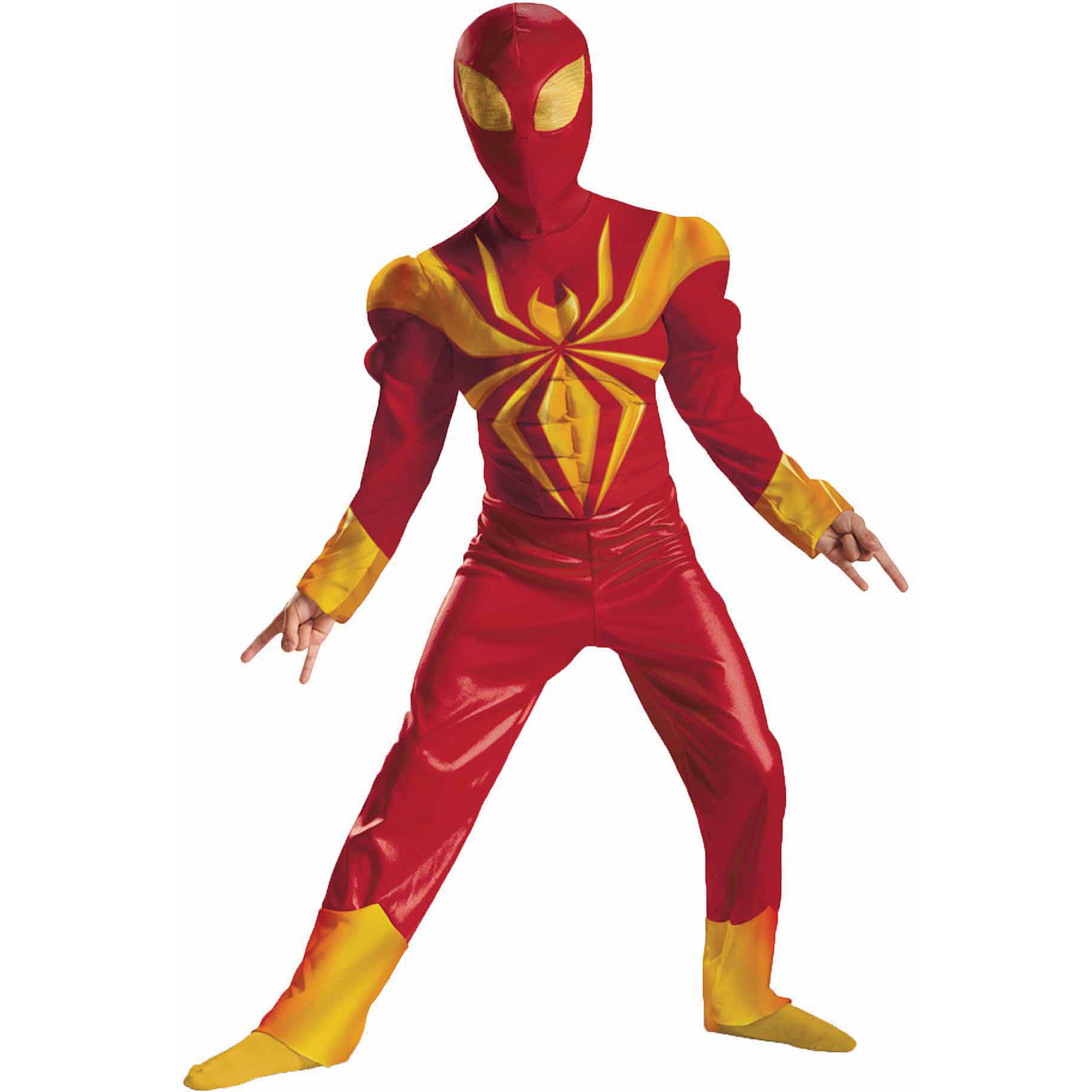 Disguise DI57722-S Ultimate Iron Spider-Man Man Classic Muscle Costume Size Medium