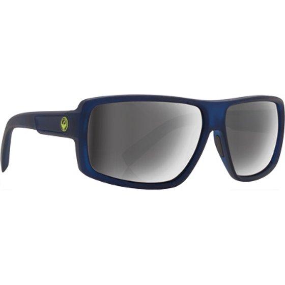 b514e7f1e9 DRAGON Double Dos Sunglasses Jet w Grey Lens 720-2190 - Walmart.com