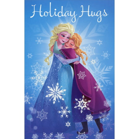Frozen Christmas.American Greetings Disney Frozen Characters Christmas Card