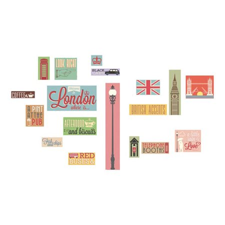 Home Decor Line London Icons Wall Decals