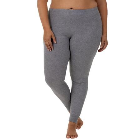 3d828ef28a282e Fit for Me by Fruit of the Loom - Fit for Me by Fruit of the Loom Women's  and Women's Plus Size Waffle Thermal Underwear Pant - Walmart.com