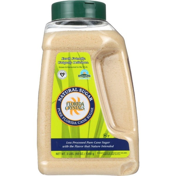 Florida Crystals Natural Cane Sugar - Jug - 48 Oz - 1 Each