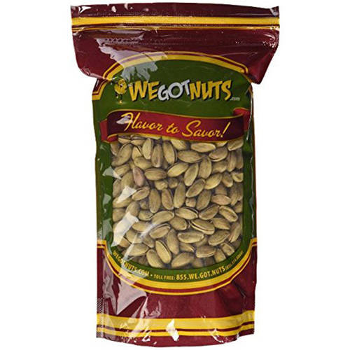 We Got Nuts Turkish Antep Roasted Salted in Shell Pistachios, 16 oz