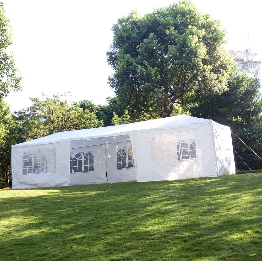 Zimtown 10' x 30' Party Tent Wedding Canopy Gazebo Wedding Tent Pavilion