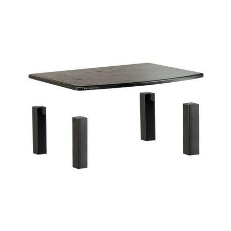 Audio Shelf Add-On Kit in Black Oak Finish