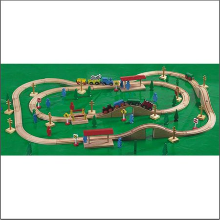 Marvel Magnetic Wooden Train Set - Walmart.com
